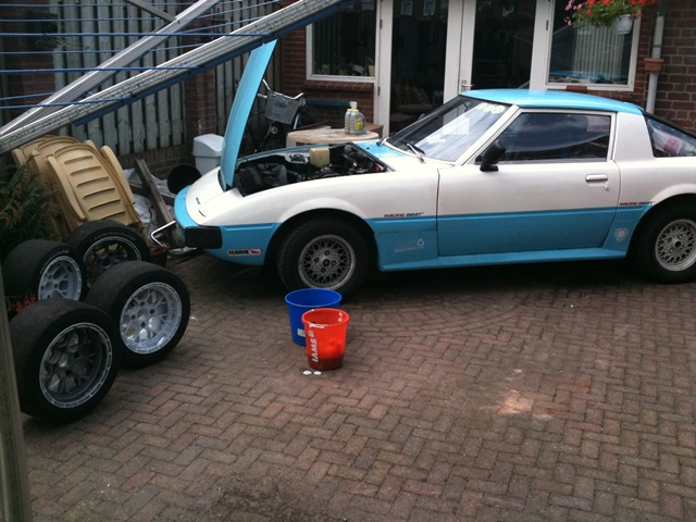 SA rx7 rx 7 12a bridgeport circuit track racecar project side